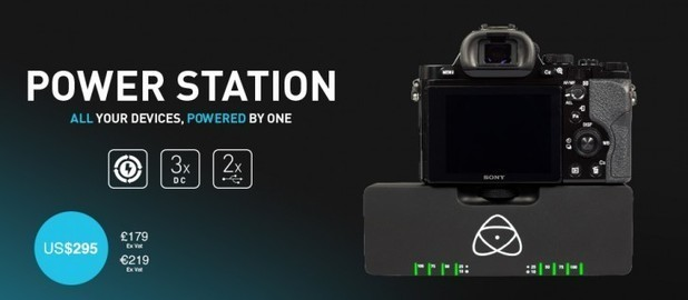 "Announcing the Atomos Power Station: Australian for ""Battery"""
