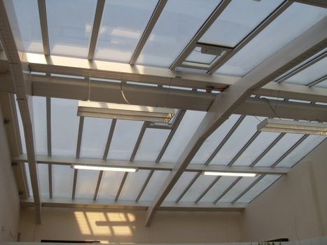 CWS Group completes a fabulous stepped glass roof over a garden centre. | CWS Group | Scoop.it