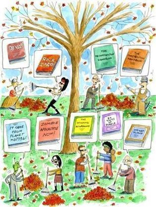Fall Book Preview - The Boston Globe | Creative Nonfiction : best titles for teens | Scoop.it