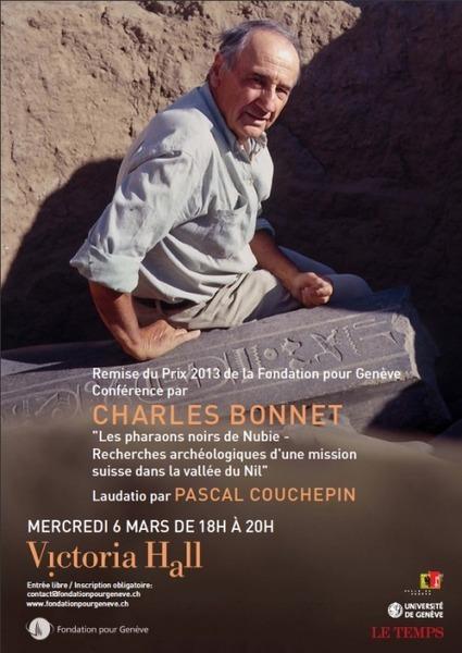 Remise du Prix de la Fondation pour Genève au Professeur Charles Bonnet | Égypt-actus | Scoop.it