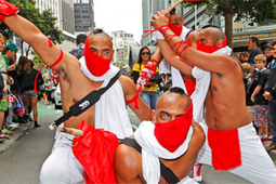 Capital turns on charm for sevens parade - Stuff.co.nz | Wellington Sevens | Scoop.it