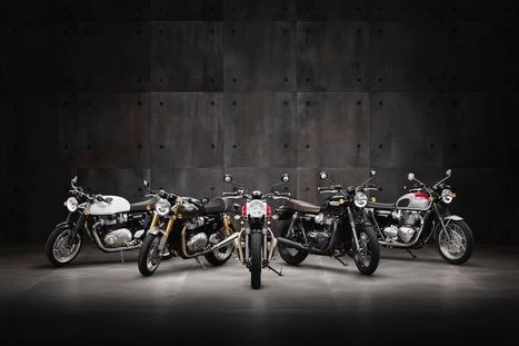 Triumph: #1 European Motorcycle Brand in North America Through April | Motorcycle Rider Today | Scoop.it