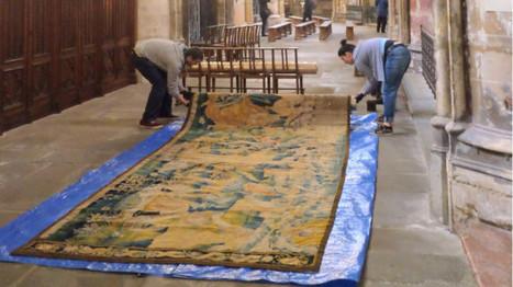 Des tapisseries exceptionnelles du XVIIe siècle à découvrir à la cathédrale Saint-Étienne | Patrimoine et Archives à Toulouse | Scoop.it