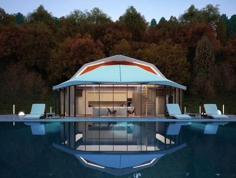 Maison atypique avec coquille pour modèle d'architecture et toit aluminium | Aluminium | Scoop.it