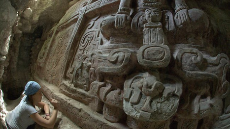Extraordinary Carving Discovered Inside Ancient Maya Pyramid | Ancient Art History Summary | Scoop.it