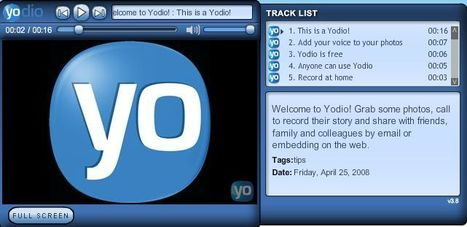 Yodio - Add voice to photos | ESOL for Adults | Scoop.it