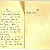 London War Diary. Original written pages. 1940