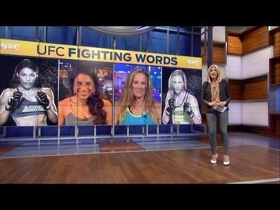 Fighting Words: Julianna Pena and Jessica Rakoczy | Funny Viral Videos | Scoop.it