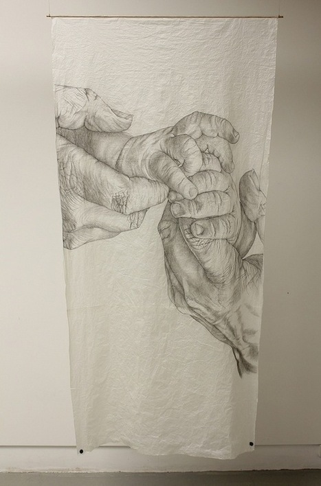 Highly Detailed Drawings of Aging Hands | My Journey Part 1 | Scoop.it