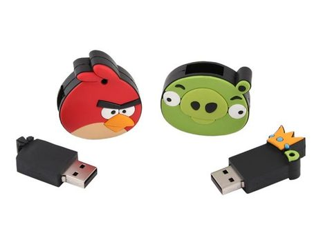 Angry Birds USB Drives   Angry Birds   Scoop.it