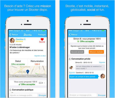 Stootie : échangez, aidez, vendez à vos voisins - Toute l actualité et les bons plans du mobile | On parle de Stootie dans les médias! | Scoop.it