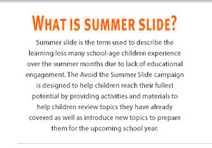 Avoid The Summer Slide Campaign by Teachers Notebook | HCS Learning Commons Newsletter | Scoop.it