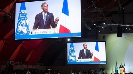 Obama: Paris talks a turning point for climate threat –video | Insights into the Global Economy | Scoop.it