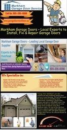 Best Garage Door installation and Maintenance Services in Markham | Garage Door Repair Markham | Scoop.it