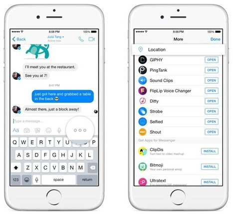 Facebook Messenger Ditches Constant Mapping To Lay Groundwork For More LocationFeatures | Location-Based Mobile Advertising | Scoop.it