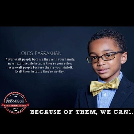 "Awesome visual campaign -""Because Of Them, We Can"" 