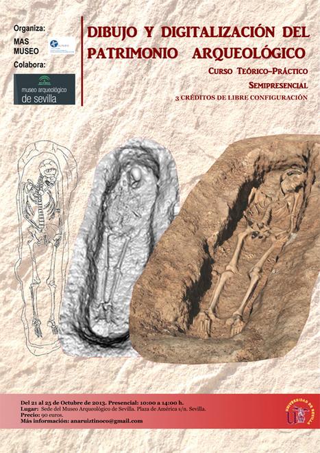 Formación y Patrimonio: Dibujo y Digitalización del Patrimonio Aqueológico | Cursos, congresos, seminarios, excavaciones.... | Scoop.it