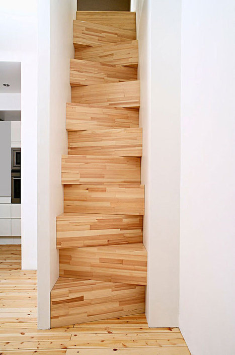 22 Beautiful Stairs That Will Make Climbing To The Second Floor Less Annoying | Architecture | Scoop.it