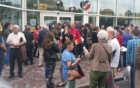 Levallois : grève contre la fermeture de la médiathèque | Quatrième lieu | Scoop.it