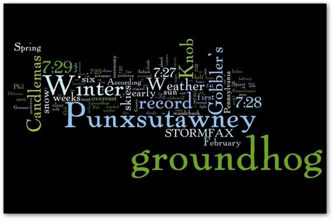 Groundhog Day History from Stormfax® 2012 | Groundhog Day | Scoop.it