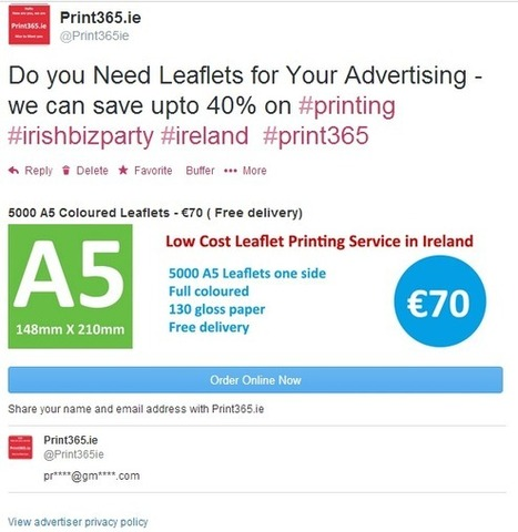 Using Twitter Lead Generation Cards in Your Tweets for Free! | SEO Ireland.org | Scoop.it