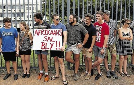 Fight for Afrikaans on campus is a fight for all languages   Archivance - Traductologiques   Scoop.it