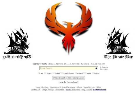 The Pirate Bay Updated With Phoenix Image and Set to return on 1 February | Technology by Mike | Scoop.it