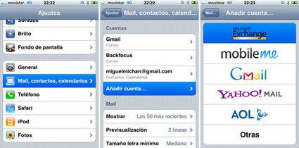 Google Sync (Sincroniza contactos y calendarios) Oficial « iPhoneFan Foro | CAU | Scoop.it