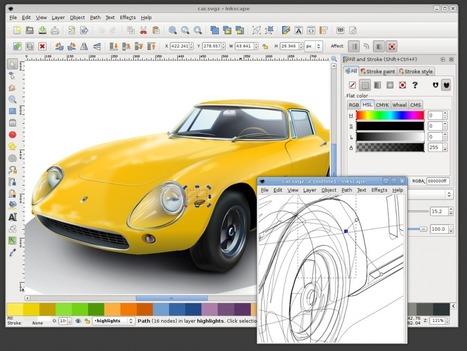 Inkscape : Logiciel d'édition de graphismes vectoriel pour Linux et Windows   matter   Scoop.it