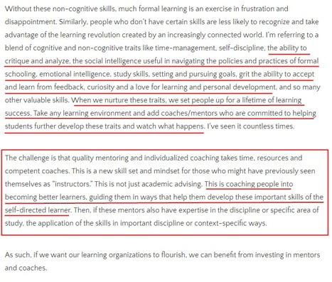 On Educational Coaching, Mentoring & High-Impact Learning | Enrjtk Educatr | Scoop.it