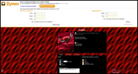 Zyvon un moyen original en ligne pour créer et gérer vos invitations | Time to Learn | Scoop.it