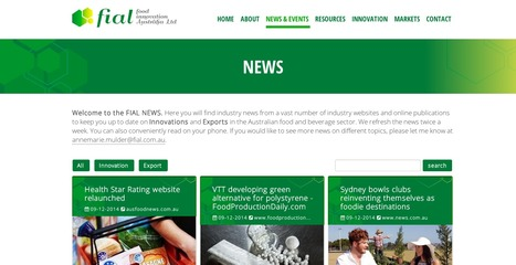 Food Innovation Australia | Showcase of custom topics | Scoop.it
