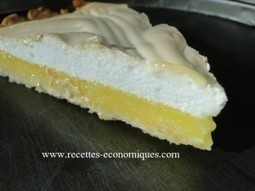 Tarte au citron meringué thermomix : très bonne recette et rapide | Blogs et recettes Thermomix | Scoop.it