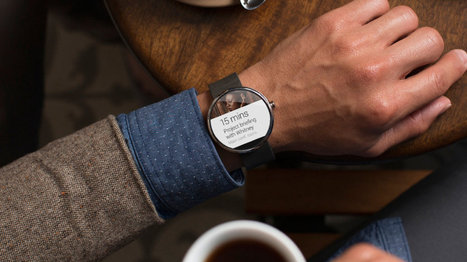 A closer look at Google's gorgeous smartwatches | Google | Scoop.it