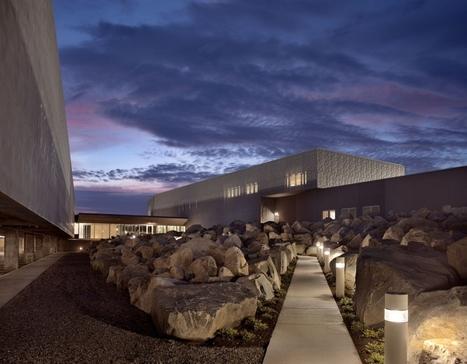 U.S. Land Port of Entry in Calais, Maine / Robert Siegel Architects   Designalmic   Designalmic   Scoop.it