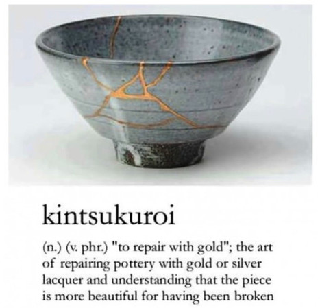 Scars of Gold: What the Japanese Art of Kintsukuroi can tell us about Post-Traumatic Growth   positive psychology   Scoop.it