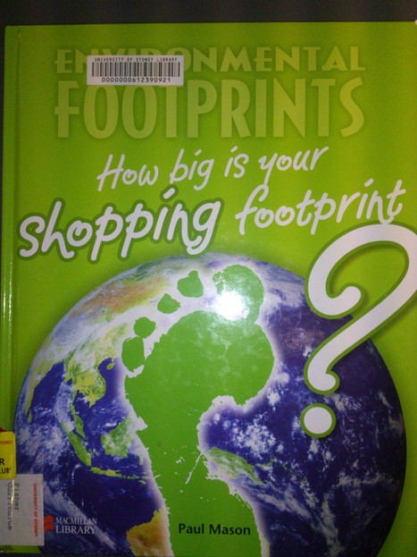 How Big Is Your Shopping Footprint? | [Community Goods] Services and Facilities | Scoop.it