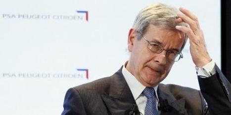 PSA: 21 millions d'euros pour le départ en retraite de Philippe Varin - l'Humanité | Lutte des classes - Conflit du travail | Scoop.it