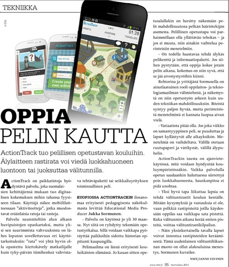 ActionTrack in NMT EPaper | ActionTrack in Education | Scoop.it