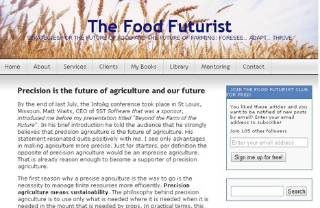 Precision is the future of agriculture and our future | Agronegócios | Scoop.it