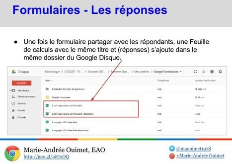 Google Formulaire : un outil indispensable en salle de classe | veille numérique et pédagogique | Scoop.it