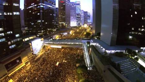 Drone Shows Thousands Filling Hong Kong Streets - YouTube | Rise of the Drones | Scoop.it