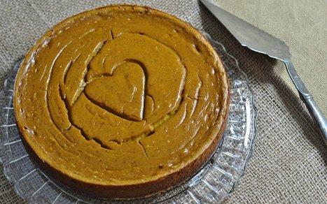 Spicy Pumpkin Almond Cheesecake [Vegan, Gluten-Free] | Vegan Food | Scoop.it