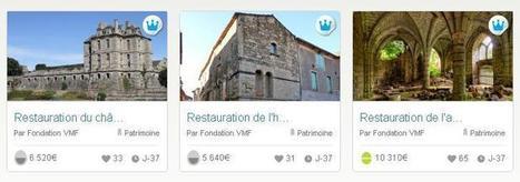 La Fondation VMF fait appel aux internautes pour sauver trois chefs-d'oeuvre en péril | Patrimoine-en-blog | L'observateur du patrimoine | Scoop.it