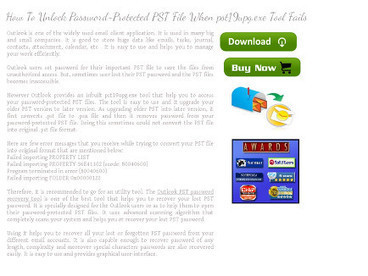 PST Password Recovery | Technology | Scoop.it