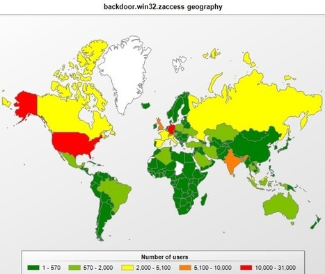 The geography of cybercrime: Western Europe and North America | Cyber - Crime, Attack, War, Space | Scoop.it