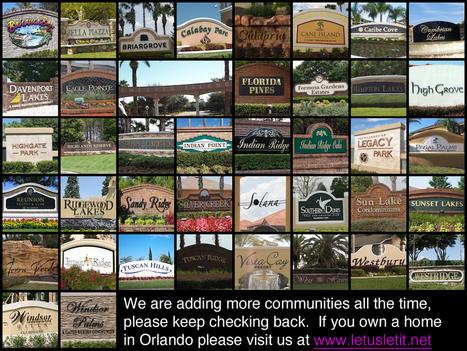 Private Holiday, Vacation Rental Villas, Condos in Orlando   Vacation Rental Villas   Scoop.it