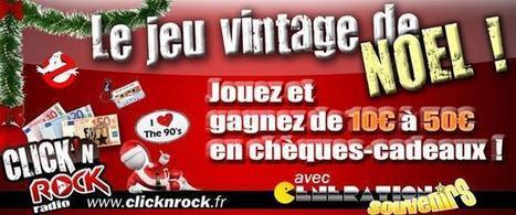 "WEB : Click'n'Rock offre un Noël ""vintage"" | Radioscope | Scoop.it"