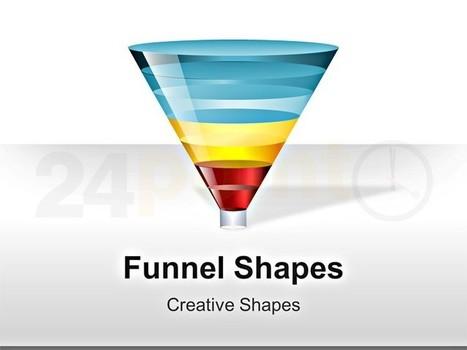 Funnel PowerPoint Diagram | funnel | Scoop.it