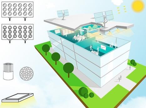 Echy : une fenêtre innovante combine lumière naturelle et paysage virtuel | Menuiseries innovantes | Scoop.it